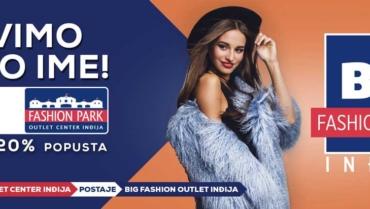 Novo ime Fashion park outlet centra Inđija